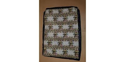 Mellanbädden med döskalle leopard