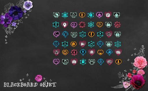 Blackboard Objet Art Theme
