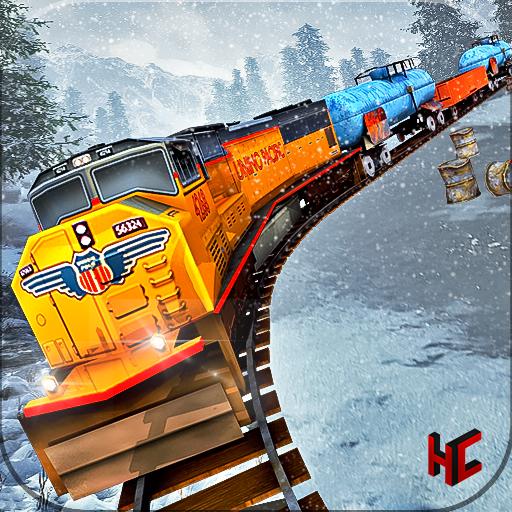 Snow Mountain Train Drive Free Simulation