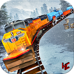 Snow Mountain Train Drive Free Simulation Icon