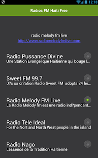 Radios FM Haiti Free - náhled