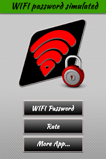 WIFi Password Simulated - náhled