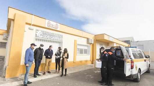 La Diputación suministra mascarillas a las asociaciones del Consejo de Familia