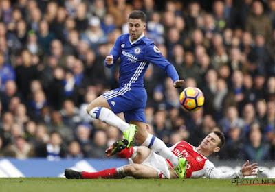 Eden Hazard aussi nominé pour un prix au mois de février en Premier League