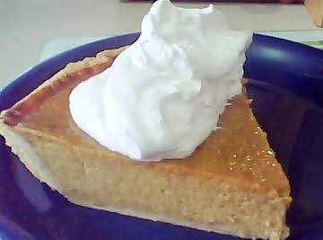 PEGGI'S HOMEMADE DEEP DISH PUMPKIN PIE