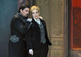 Photo: Wiener Staatsoper: LA CLEMENZA DI TITO - Inszenierung Jürgen Flimm. Premiere 17.5.2012. Michael Schade, Elina Garanca. Foto: Barbara Zeininger