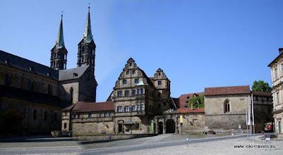 Photo: Bamberg. Domplatz. Alte Hofhaltung.
