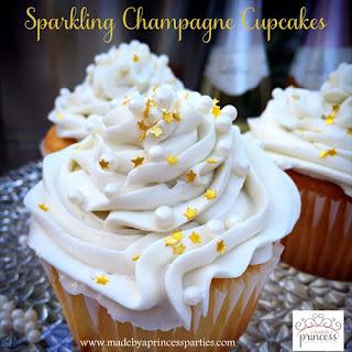 Sparkling Champagne Cupcake