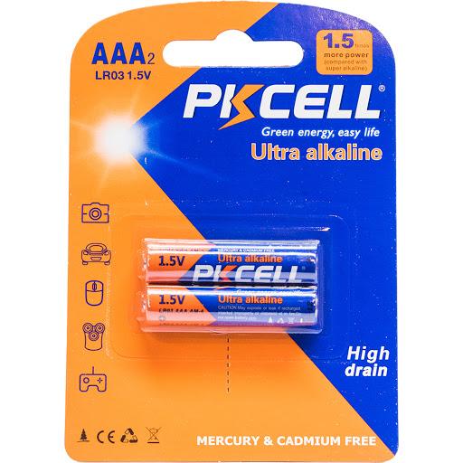 bateria pkcell ultra alcalina aaa 2und