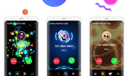 Color Flash Launcher - Call Screen, Themes 1.0.17 screenshots 2