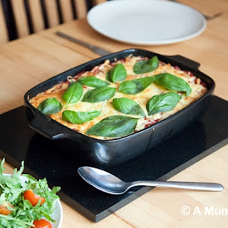 Delicious and Filling Smokey Halloumi Pasta Bake (Recipe) Recipe