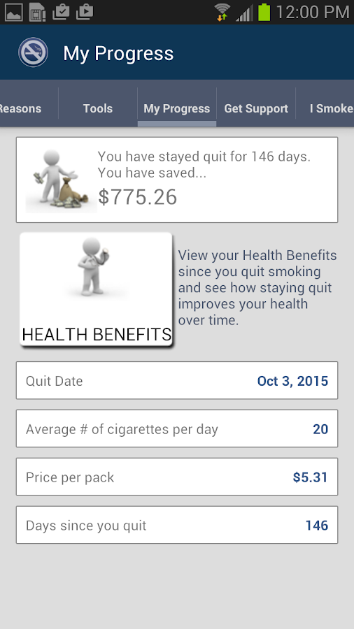 Stay Quit Coach- screenshot