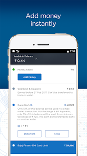 Bajaj Finserv Wallet - No Cost EMIs, Recharges- screenshot thumbnail