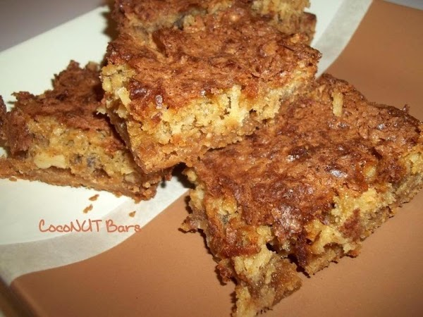 ~ Coconut Bars ~ Recipe