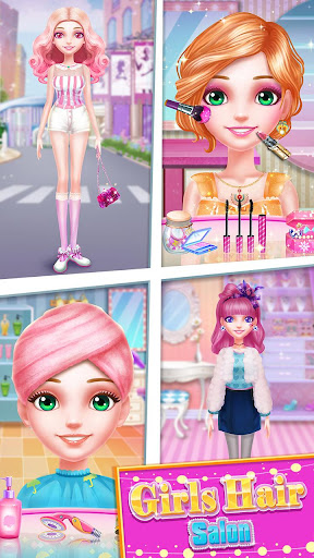 ud83dudc87ud83dudc87Girls Hair Salon screenshots 14