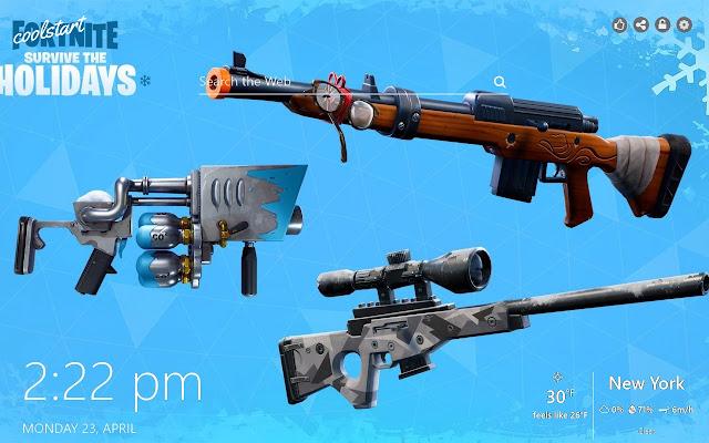 Fortnite Guns HD Wallpapers Battle Royale