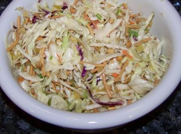 Oriental Cabbage Salad Recipe