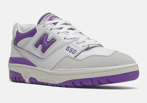 New Balance 550 Releasing Soon in White and Purple