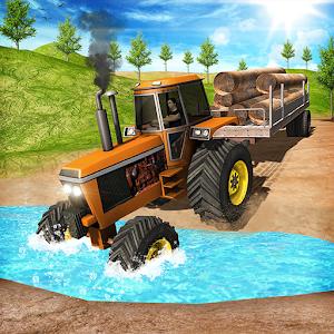 Cargo Tractor Hill Climb Offroad Simulator 3D