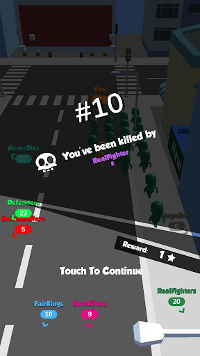 Crowd Race 3D : Biggest in the city! android2mod screenshots 5