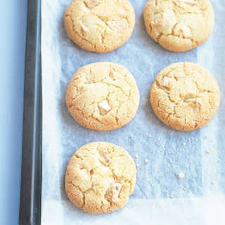 Coconut And White Chocolate Chip Cookies.