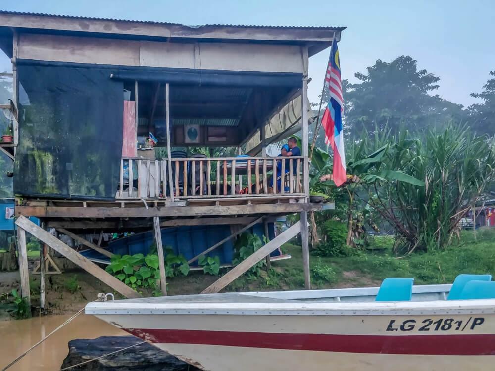 sukau+homestay+river+kinabatangan+sabah+borneo