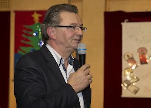 Photo: Oberschulrat Franz Weber führte durch das Programm