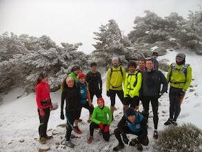 Photo: Entrenamiento por Guadarrama. En Ávila, Madrid y Segovia al mismo tiempo. Nieve