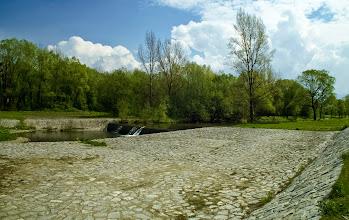 Photo: Splav u cyklotrasy č. 59 u  Frýdlantu nad Ostravicí.
