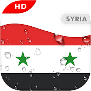 Syria Flag 3D live wallpaper