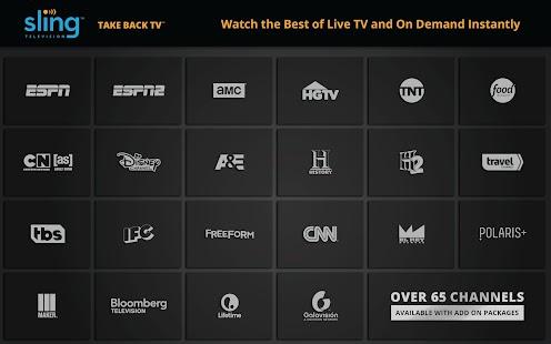 Sling TV Screenshot 2