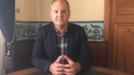 El alcalde de Cuevas, Antonio Fernández Liria.
