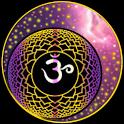 Chakras meditation healing icon