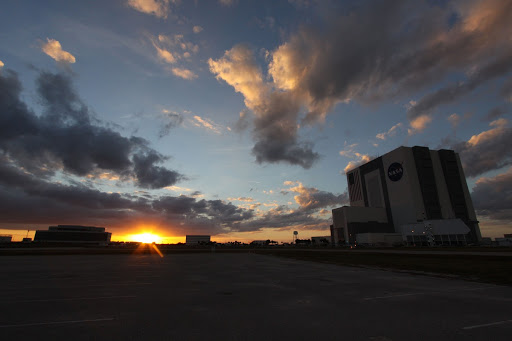Sunset Shots over the VAB.