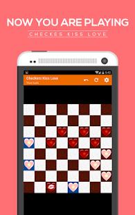 Checkers kiss love screenshot 3