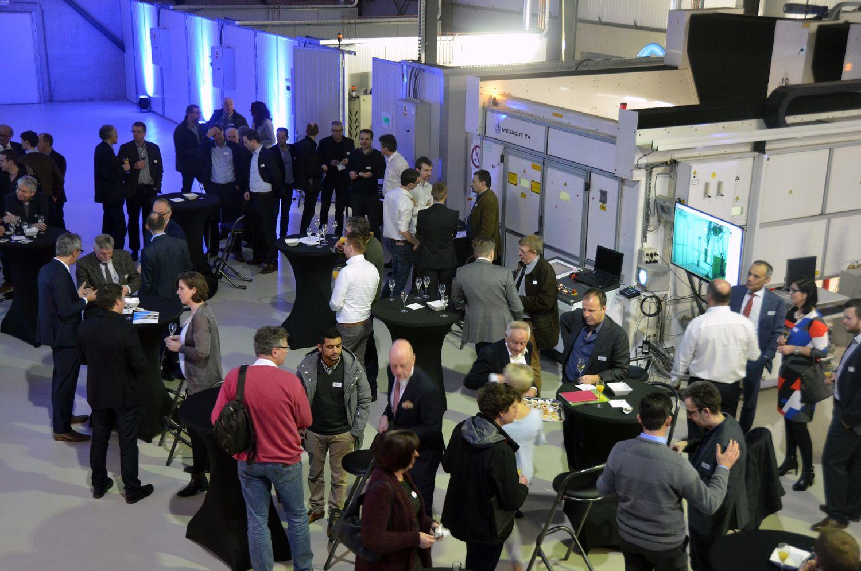 LCV Inauguratie  nieuwe productie hal