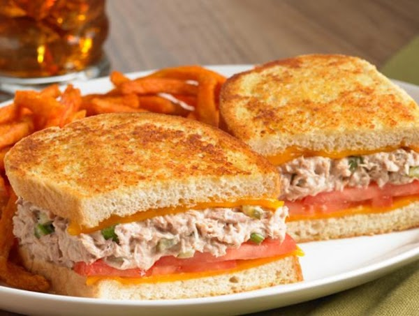 King's Hawaiian Tuna Melt Supreme Recipe