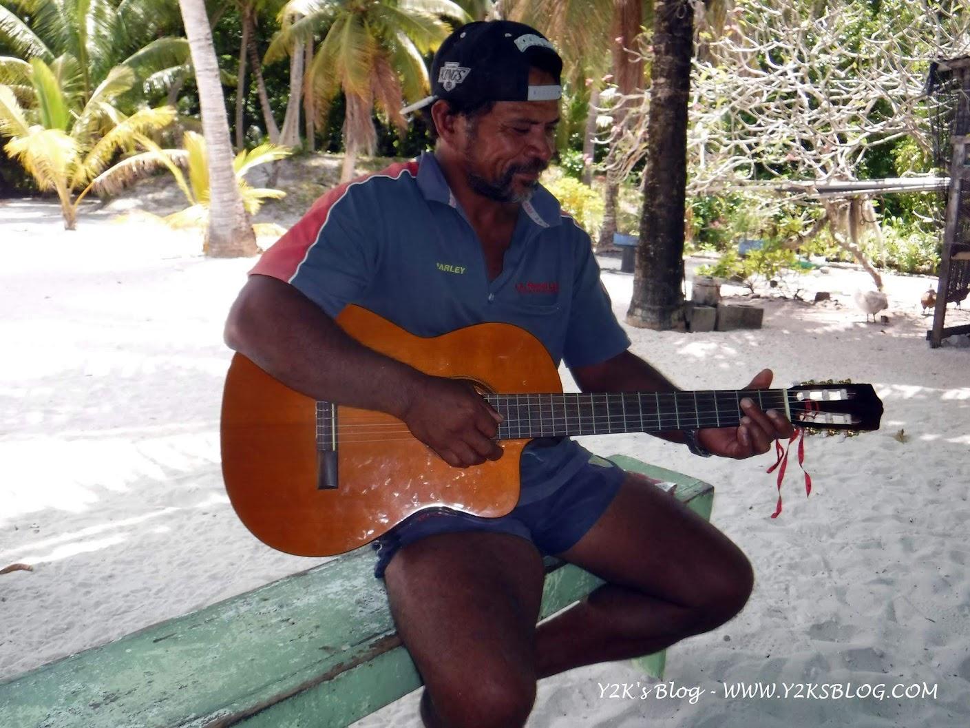 Edward Marsters il chitarrista :-)