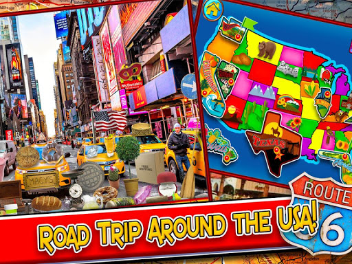 Hidden Objects Road Trip USA - New York to Hawaii screenshots 2