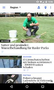 bz Basel News screenshot 1