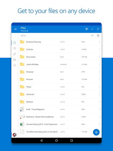 Microsoft OneDrive 6.12 screenshots 8