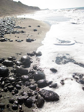 Photo: And then there's black sand beaches...
