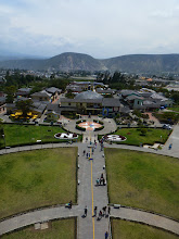 Photo: View from top of Mitad del Mundo monument