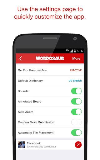 Wordosaur Top Rated Word Game 1.0.44 screenshots 6