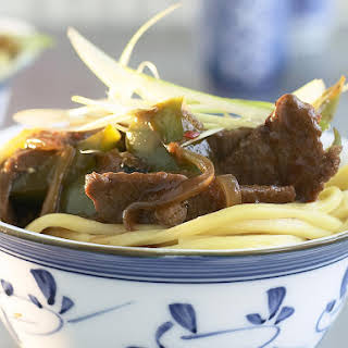 Mongolian Lamb Stir-Fry.