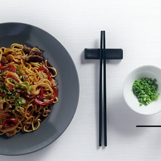 Japanese Recipes | BBQ Beef Yakisoba