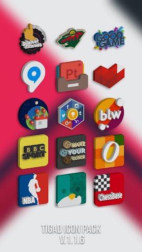 Tigad Pro Icon Pack  screenshots 6