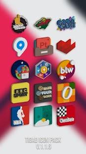Tigad Pro Icon Pack Screenshot