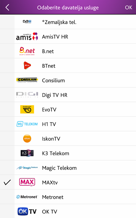 TvProfil - TV program- screenshot