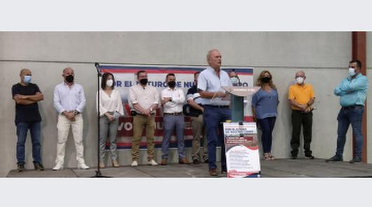 Juan Espinosa, candidato a las elecciones de la CUCN